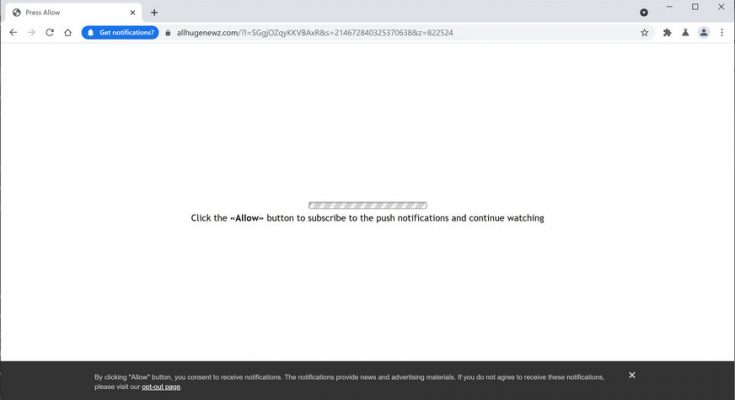 remove Allhugenewz.com virus